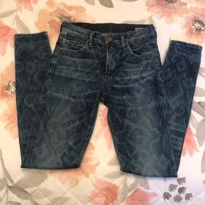 Citizens of Humanity Rocket Jeans Sz 25